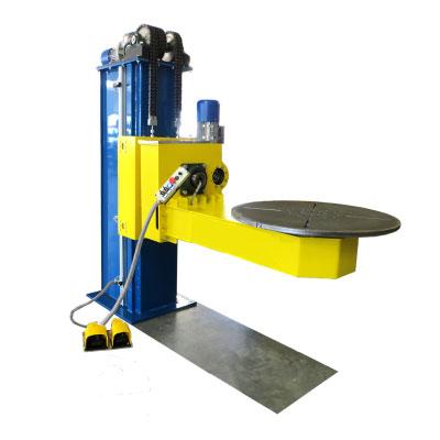 Posicionadores de mesa giratoria de 200 - 8000 kg y accesorios