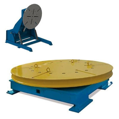 Posicionadores de mesa giratoria 500 - 8000 kg